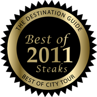 Best of Steaks 2011 Award | Supanos Steakhouse Baltimore MD
