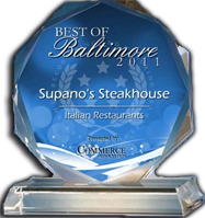 Best Italian Restaurant | Supano's Steakhouse, Seafood & Pasta, Baltimore Maryland
