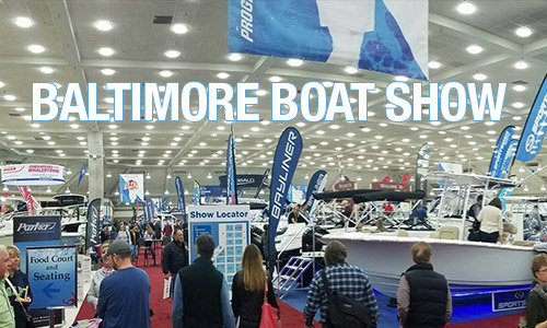 Progressive Baltimore Boat Show 2019 | Convention Center Restaurant Dining