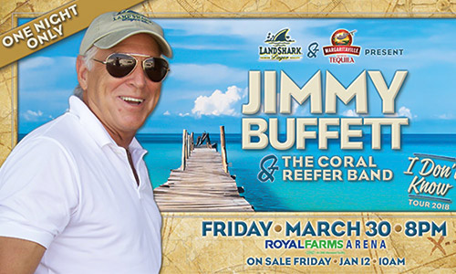 Jimmy Buffett Baltimore Royal Farms Arena | Jimmy Buffett Concert Restaurant Dining