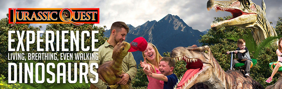 Jurassic Quest Baltimore Convention brings you a Dinosaur Adventure for the whole family. Find Baltimore dining near  Jurassic Quest Convention