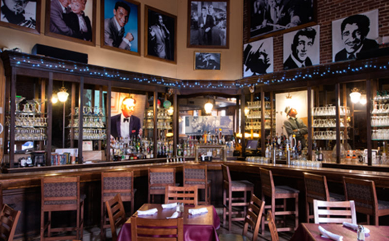 Baltimore Sinatra Bar | Supano's Steakhouse, Seafood and Pasta, Baltimore MD