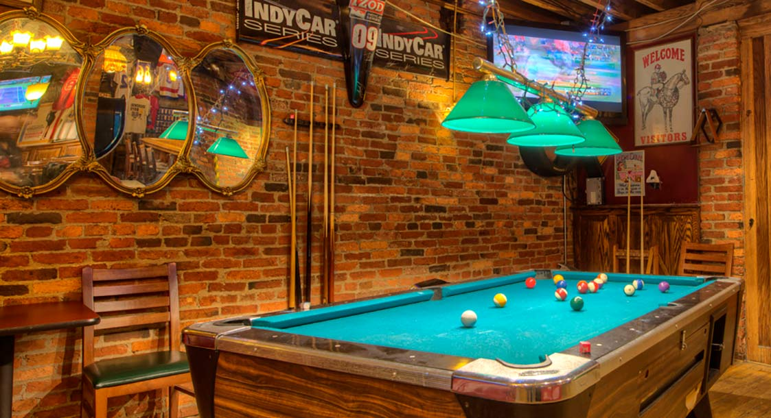 Baltimore Inner Harbor Sports Bar Pool Table
